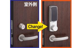Fe-Lock SE交換1