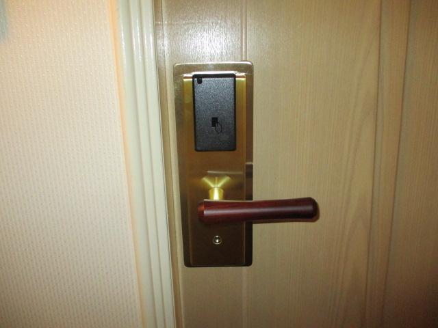 ホテルカードロック施工7