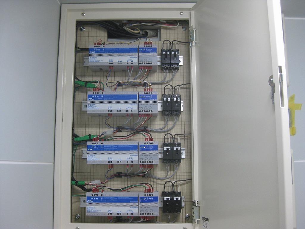 防爆電気錠AEPT施工2
