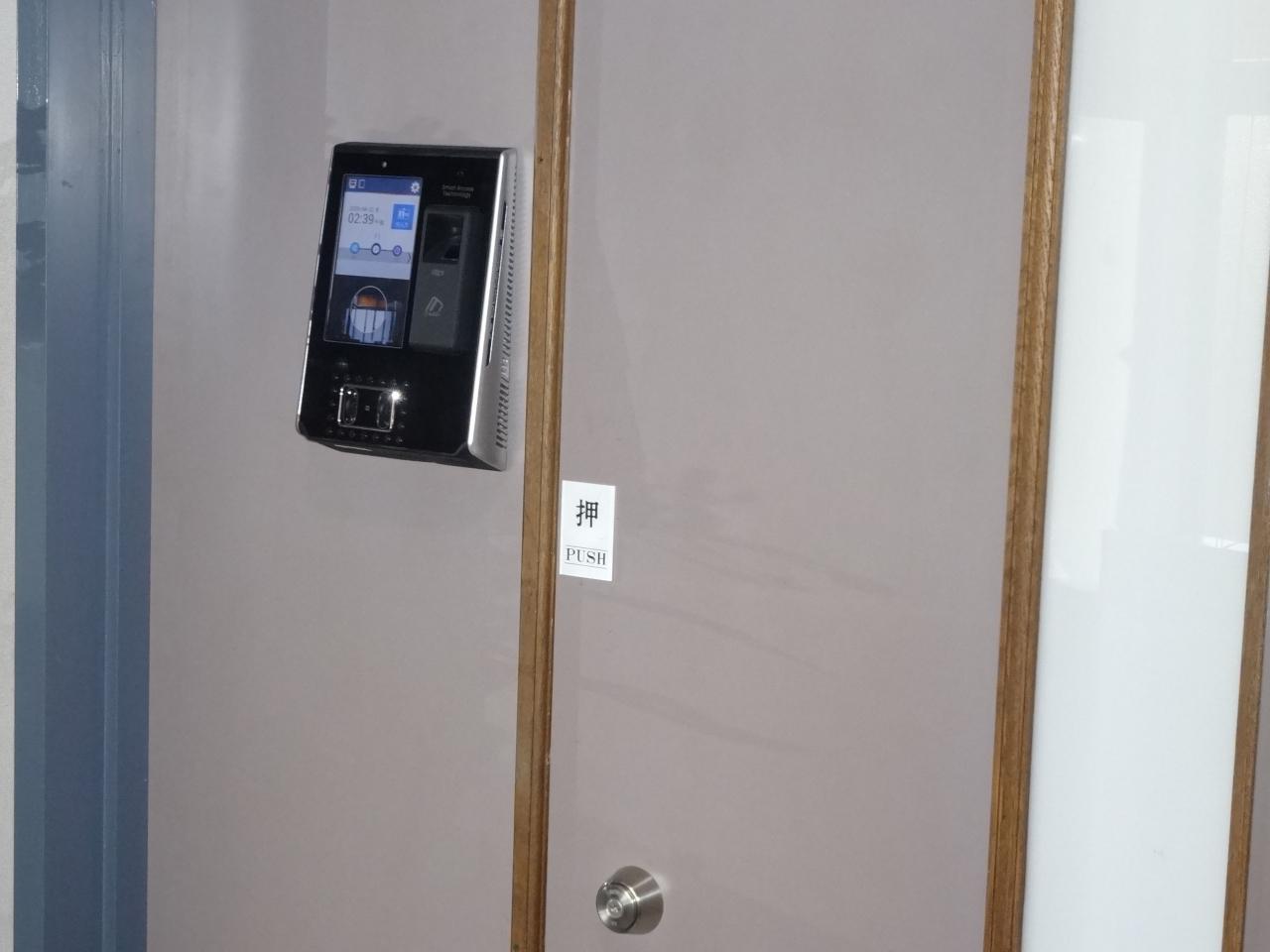 顔認証(ViRDI)AC-7000施工例2