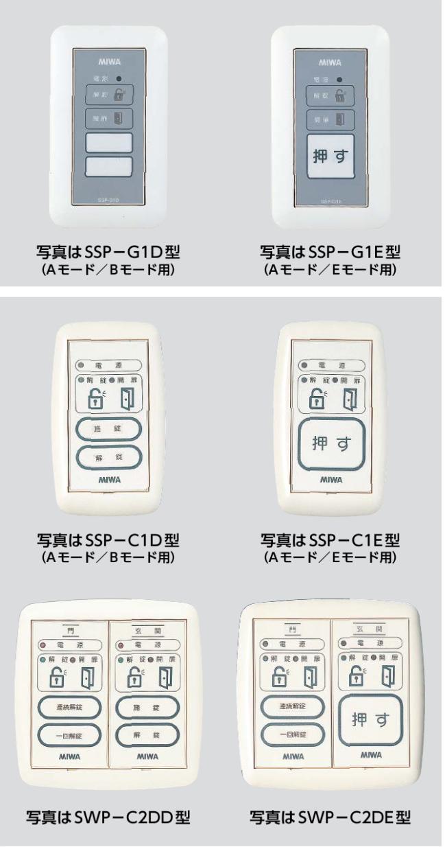 SWP-C SSP-C SSP-G