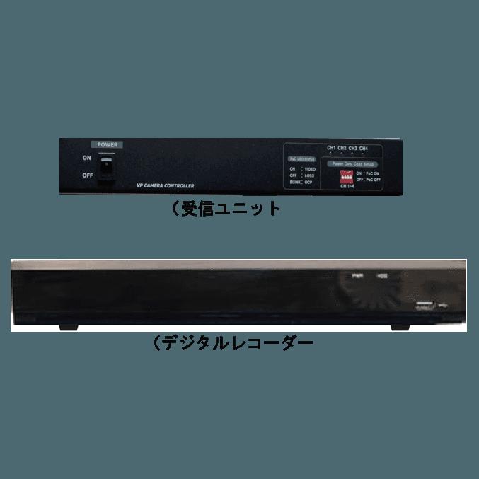 受信ユニット・デジタルレコーダー